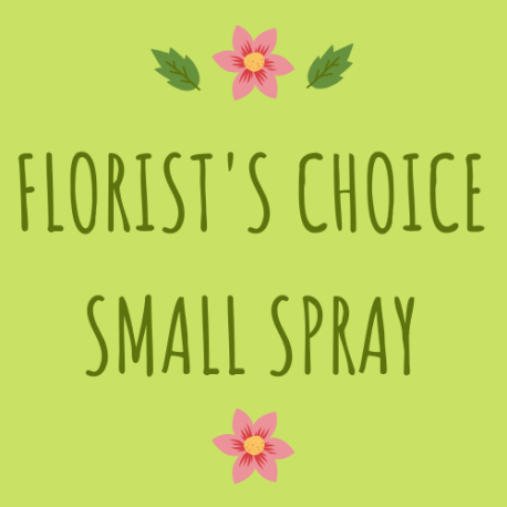 Florist's Choice Small Funeral Spray