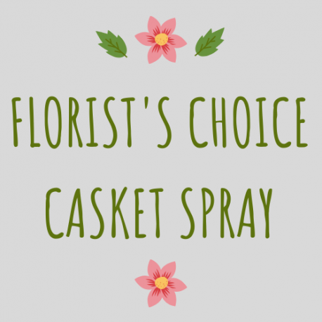 Florist's Choice Casket Spray