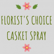 Florist's Choice Casket Spray
