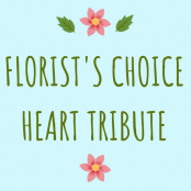 Florist's Choice Heart Tribute
