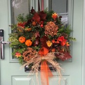 Opulent Autumn Wreath