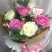 Cwtch rose arrangement