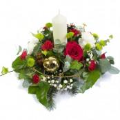 Peace and Joy Candle Arrangement